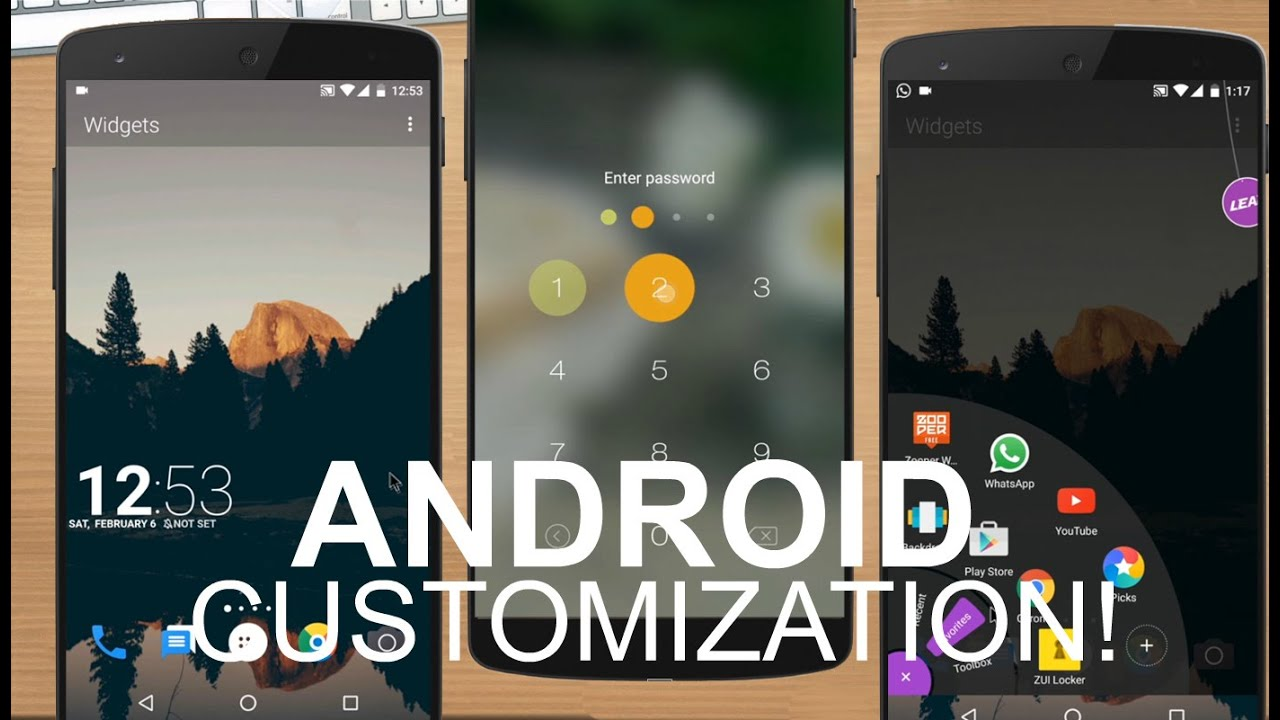 android customization app